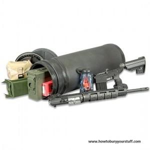 "monovault - Mono Vault 28"" x 9"" Gun & Gear Burial Vault"