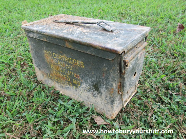 guide to military surplus ammo cans how to bury your stuff
