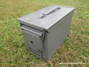Military Surplus Ammo Can