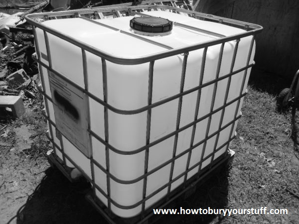 fuel storage tank & Underground Fuel Storage - How To Bury Your Stuff