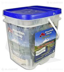 Mountain House Dehydrated Food Bucket