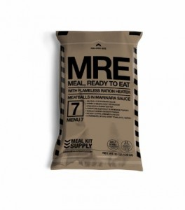 Single MRE Pack
